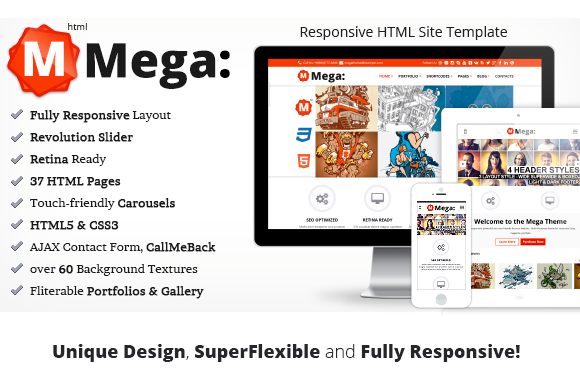 Mega Multi-Purpose Site Template