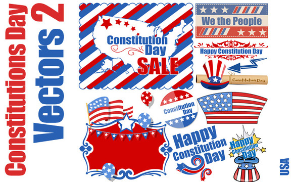 Constitution Day Vector Pack 2