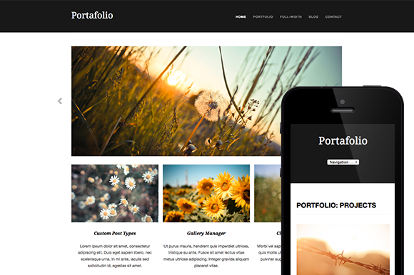 Portafolio WordPress Theme