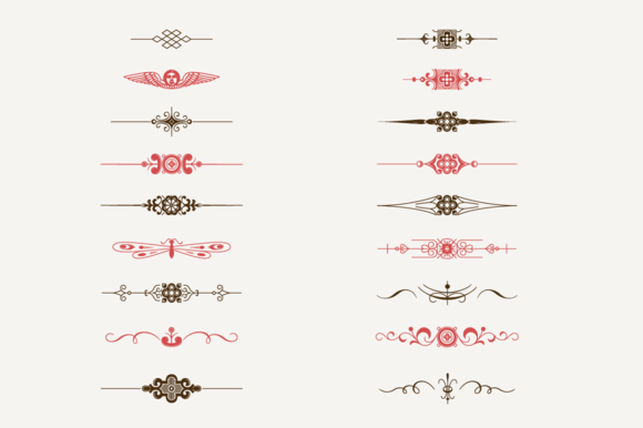 Decorative Text Dividers NЎг1