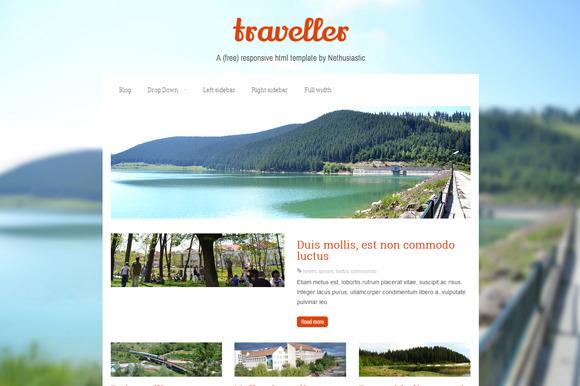 Traveller Responsive Html Template