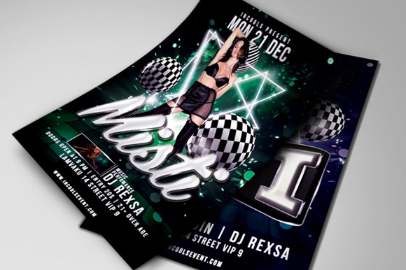 Misti Party Flyer Template