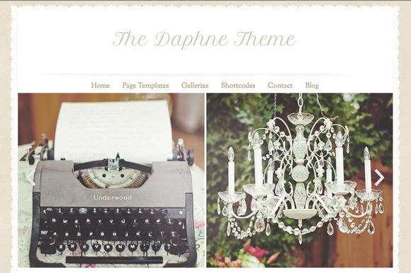 Daphne Responsive Wordpress Theme