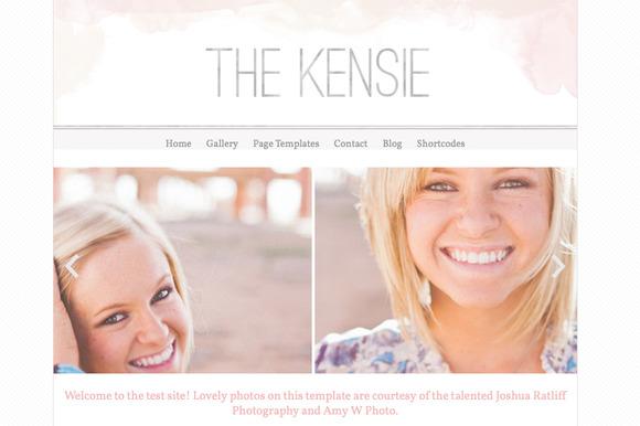 The Kensie- Responsive Wordpress