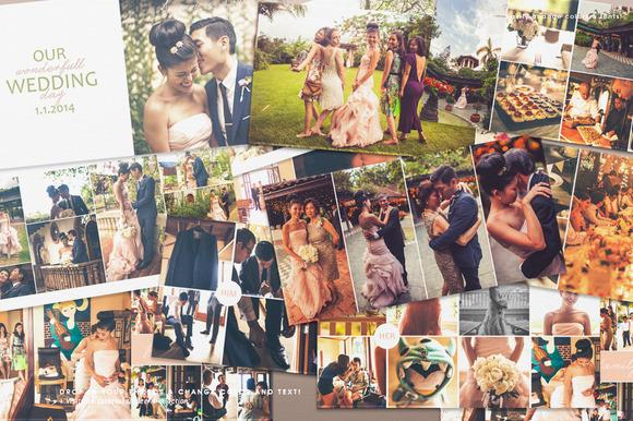 12x12 Wedding Album Book Wonderful