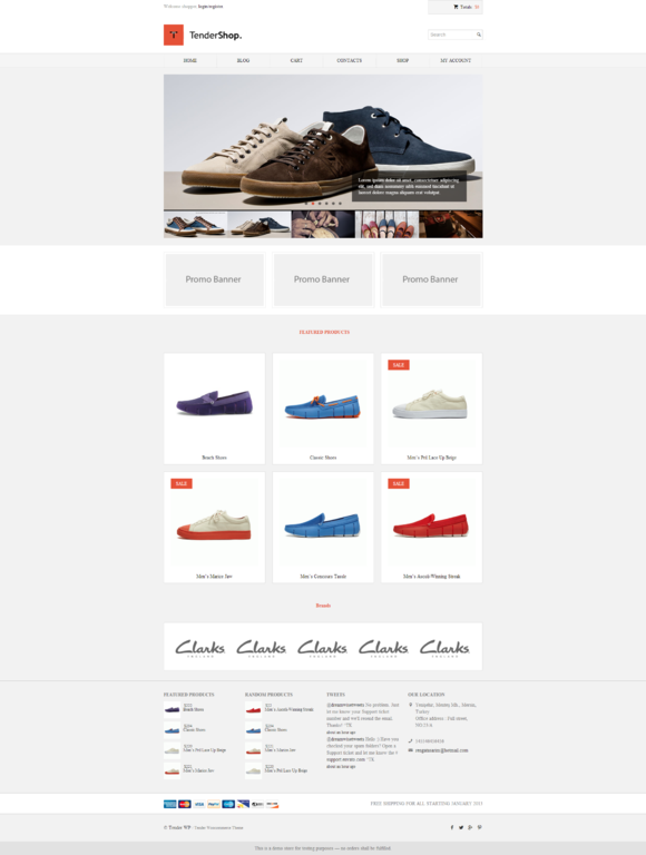 Tendershop Woocommerce Theme