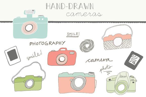 Handdrawn Cameras