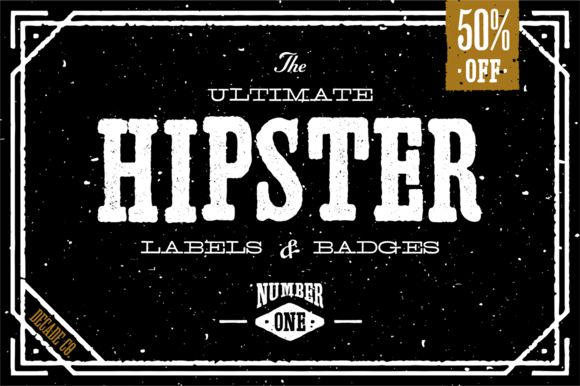 The Ultimate Hipster Labels Badges