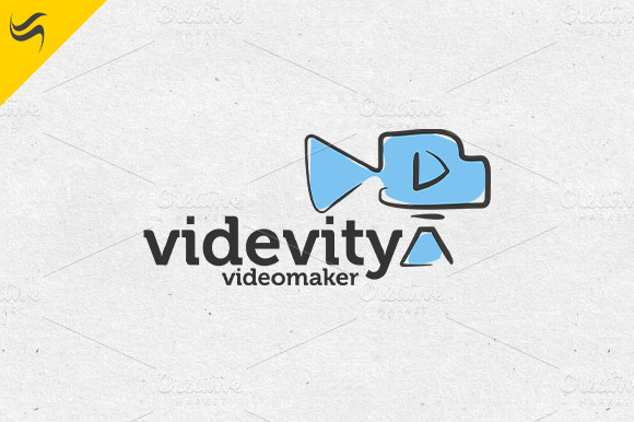 Videvity Logo Template