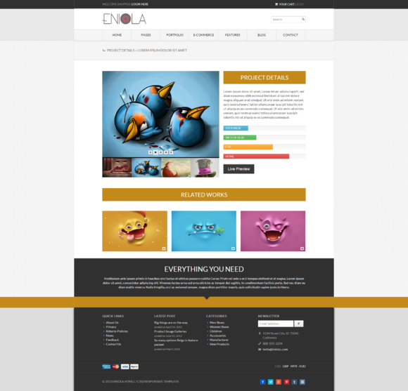 Eniola Multipurpose Resp Template