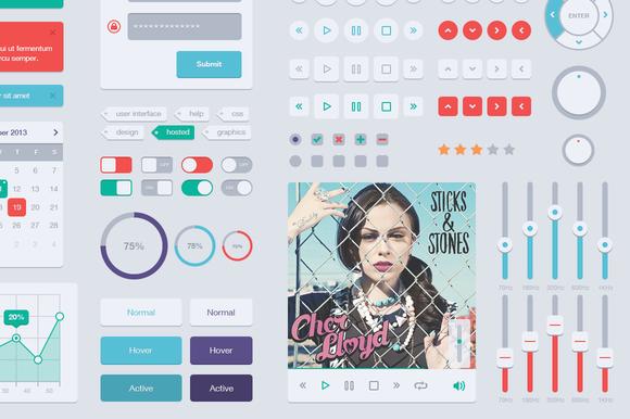 Flat UI Web Kit V2