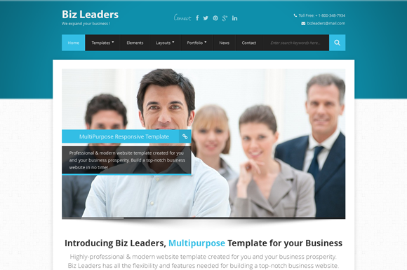 Biz Leaders Responsive Business