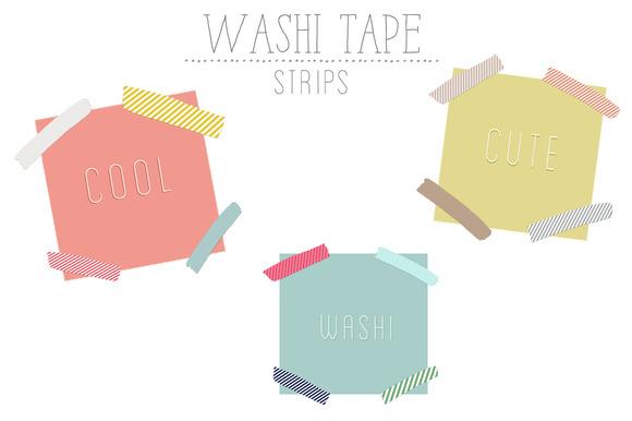 Washi Tape Strips