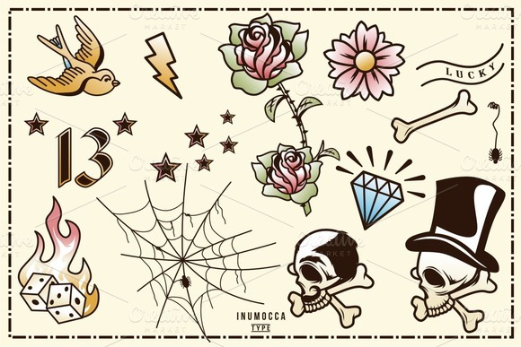 40 Tattoo Flash