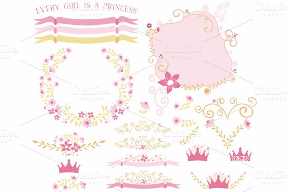 Pink Gold Floral Designs