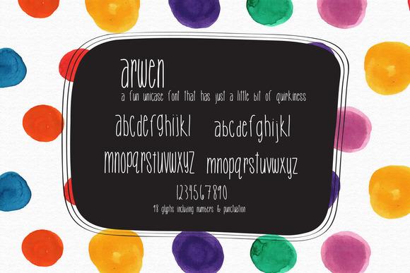 Arwen Unicase Font