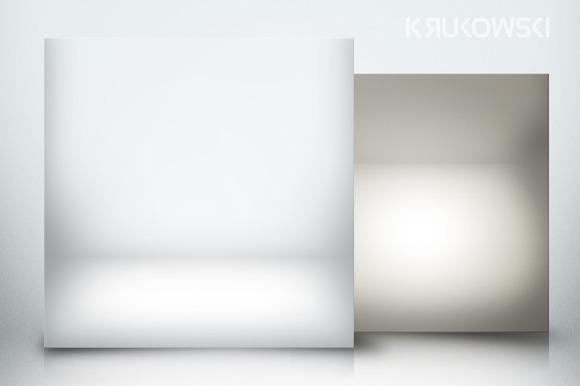 Spotlight White Room Backdrop