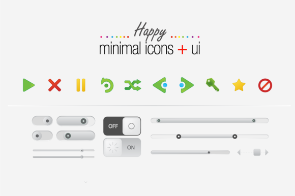 Happy Minimal Icons UI