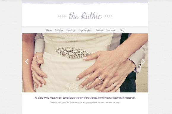 The Ruthie Responsive Wordpress