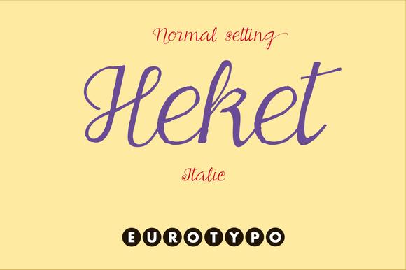 Heket Italic