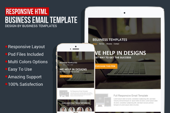 Responsive Creative Email Template