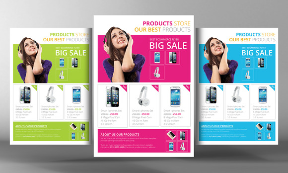 Products Flyer Template