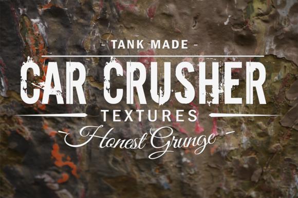 Car Crusher Grunge Tank Made