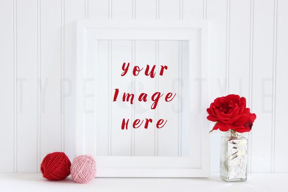 Styled Stock Photo Photo Frame