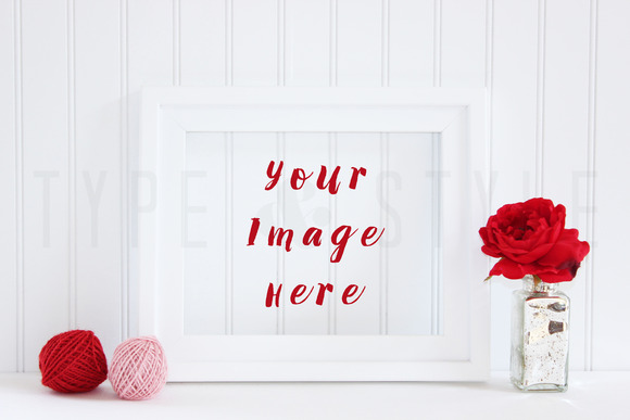 Styled Stock Photo Valentines Day