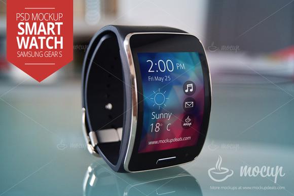 Samsung Smartwatch Mockup