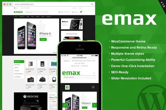 EMax WooCommerce Responsive Theme