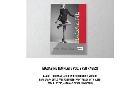 Magazine Editorial Template 09