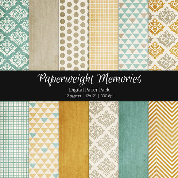 Patterned Paper Sweet Day