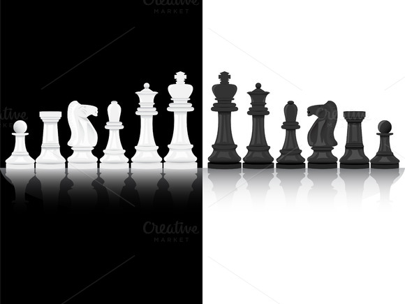 Chesspieces Vector Illustration
