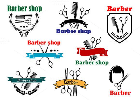 Barber Shop Signboard Designs