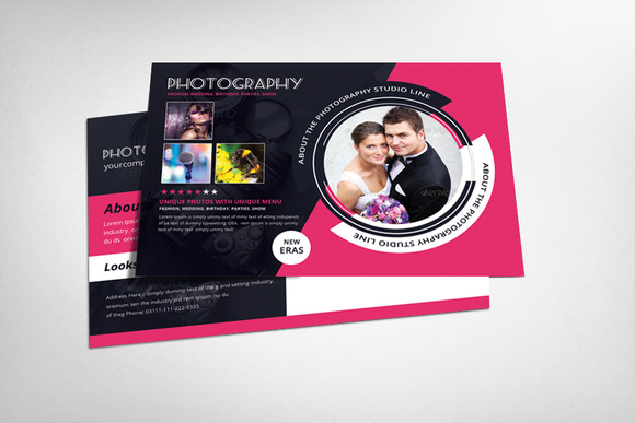 Photography Postcard Template