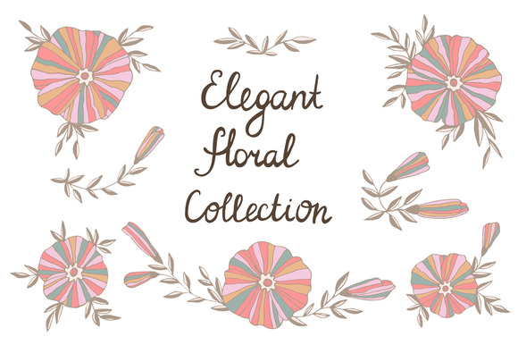 Elegant Floral Collection