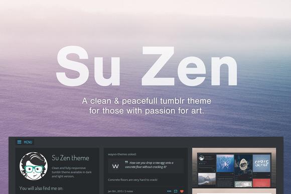 Su Zen Tumblr Theme