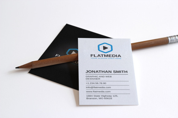 Clean Corporate Business Card 7