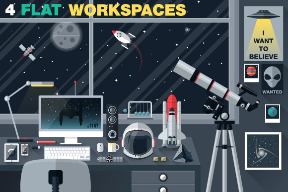 Space Lover Workspace