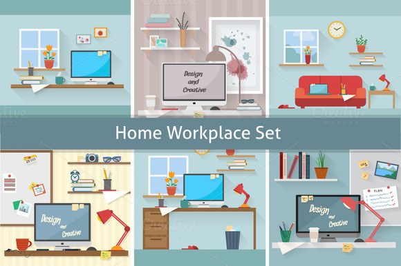 Home Workplace Set