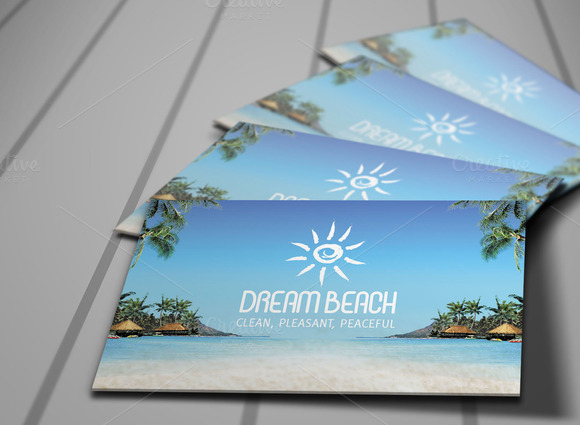 Dream Beach Invitations Card