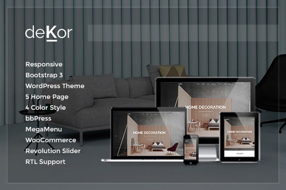 DeKor Interior WordPress Theme