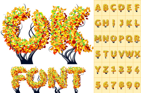 Detailed Tree Alphabet