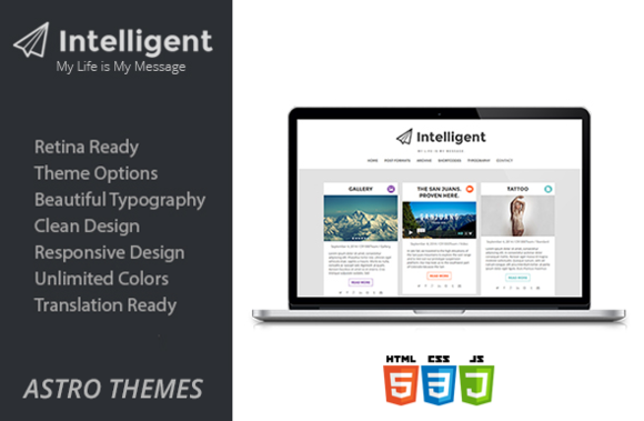 Intelligent WordPress Blog Theme