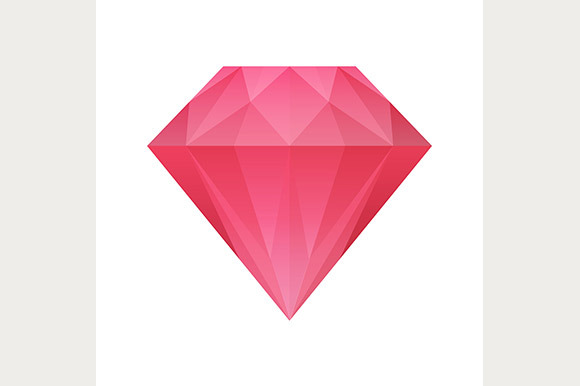 Shiny Diamond Icon