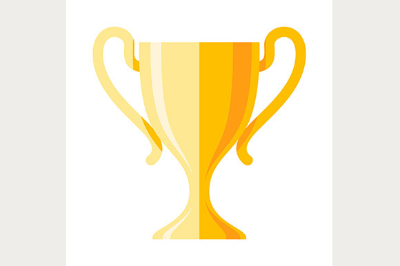 Winner Cup Flat Icon