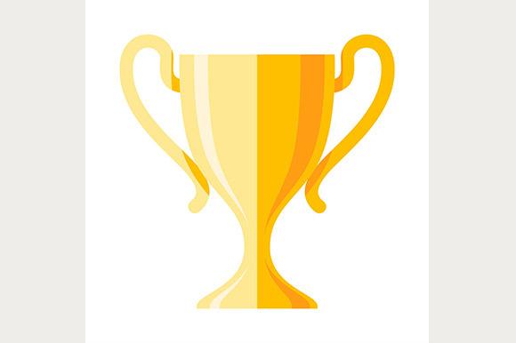 Winner Cup Flat Icon
