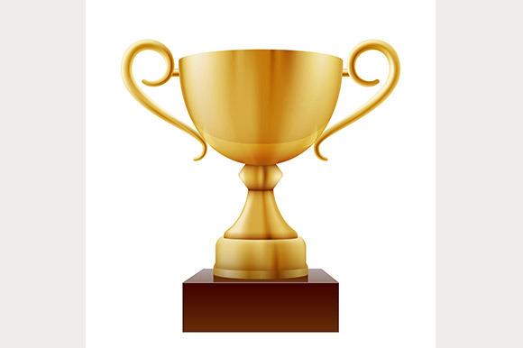 Vector Winner Cup