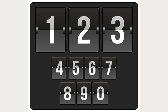 Countdown Timer And Date Scoreboard